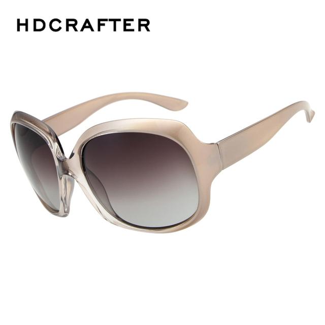 Moda de Luxo de Grandes Dimensões das Mulheres Gradiente Quadrado Resina Lente Condução Viajar Óculos de Sol Da Marca Do Vintage Elegante