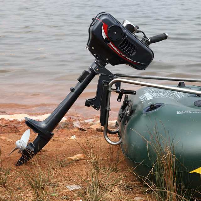 US $176 7 7% OFF|New Hot Selling Hangkai water cooled 2 stroke 3 5 HP boat  engine outboard boat motor(3 5 HP 2T)-in Boat Engine from Automobiles &