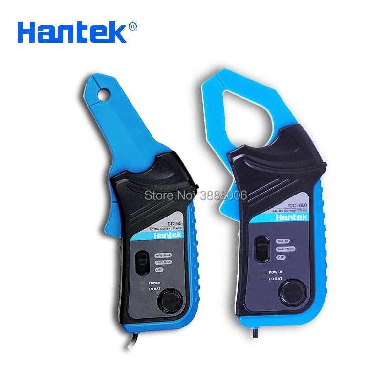 где купить Hantek CC-65 AC/DC Current Clamp Meter CC65 20kHz Bandwidth 1mV/10mA 65A Factory direct sales Multimeter with BNC Connector по лучшей цене
