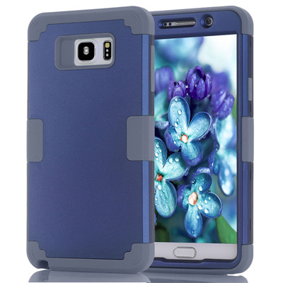Shockproof Phone Case For Samsung Galaxy Note5 Case Durable PC+TPU 3 Layers Hybrid Full Body Protect Anti-Knock Phone Shell (16)