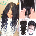7A Cheap Middle/Free/3 Part Silk Base Closure Brazilian Hair Silk Closure Body Wave Silk Top Closure 4*4 Silk Lace Closure