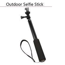 Outdoor Telescoping Extension Rod Monopod Tripod Pole Sport Camera Mount for GoPro Hero 5 4 3 Waterproof Selfie Stick