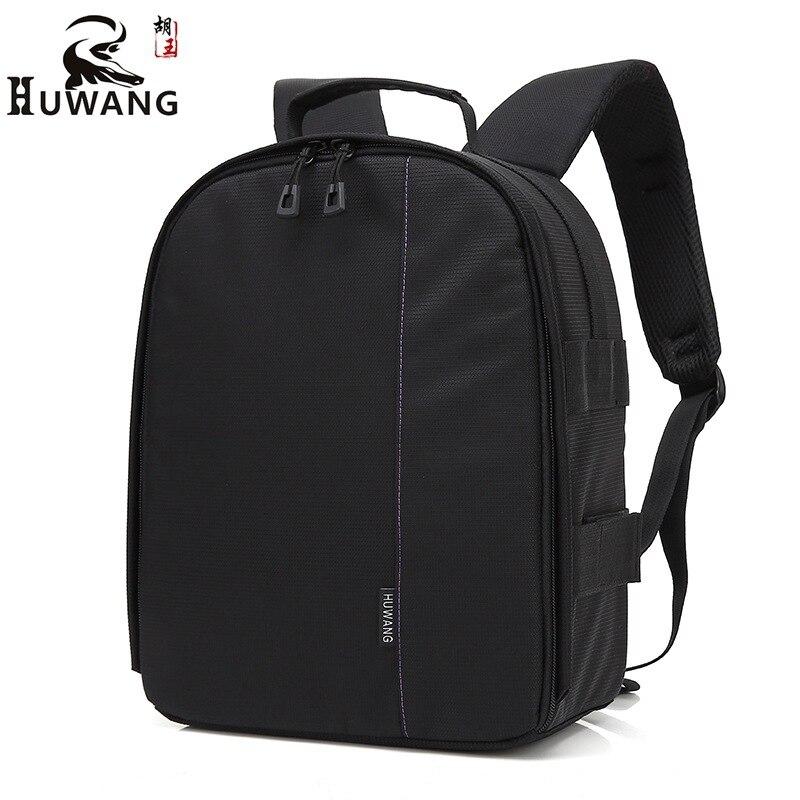 HuWang sac à dos Sacs pour appareils photo fotografia acessorios caméra housse de pluie pour Nikon d90 p900 d3100 d750 sony a5000 rx100 a6000