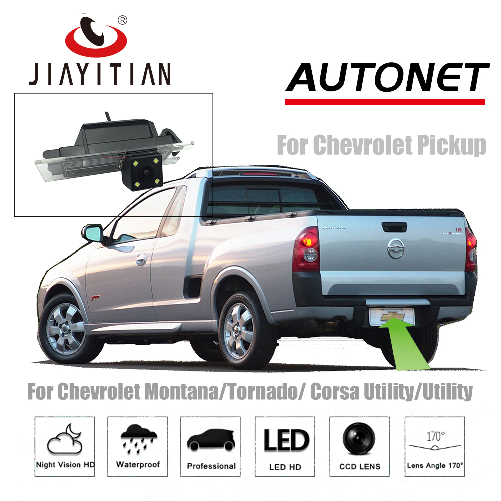 Aggressive Jiayitian Rear Camera For Chevrolet Montana/tornado/corsa Utility/utility Pickup 2003~2018 Ccd Night Vision License Plate Camera In Many Styles
