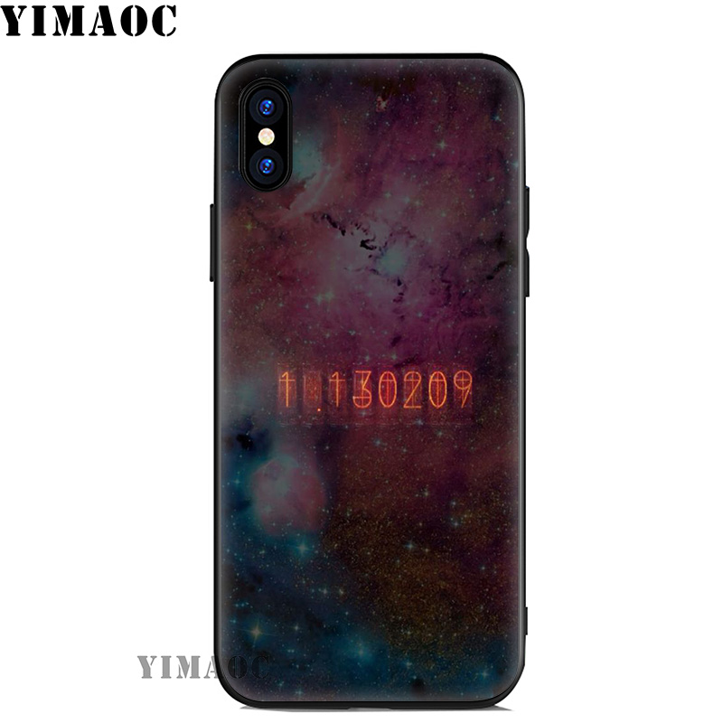 YIMAOC Steins Gate Anime Soft Silicone Case for iPhone 11 Pro Xr Xs Max X or 10 8 7 6 6S Plus 5 5S SE in Fitted Cases from Cellphones Telecommunications