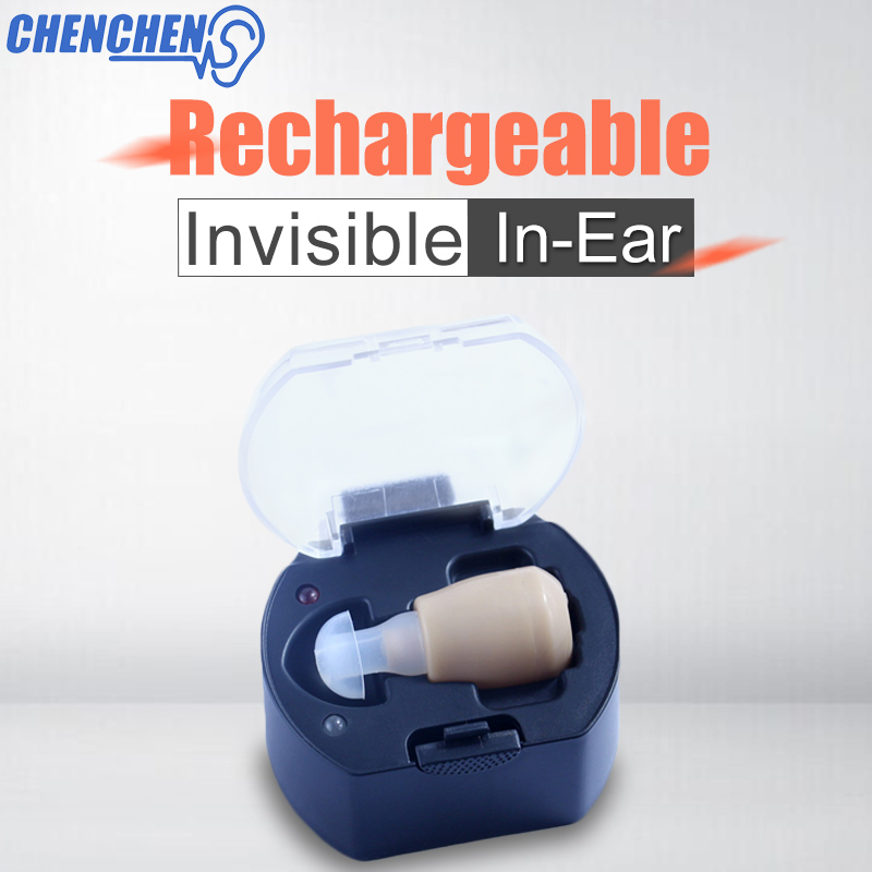 Hearing Aids Deaf In Ear Rechargeable Hear Clear Sound Amplifier Deaf Aid Portable Hearing Aids Thanksgiving Gift