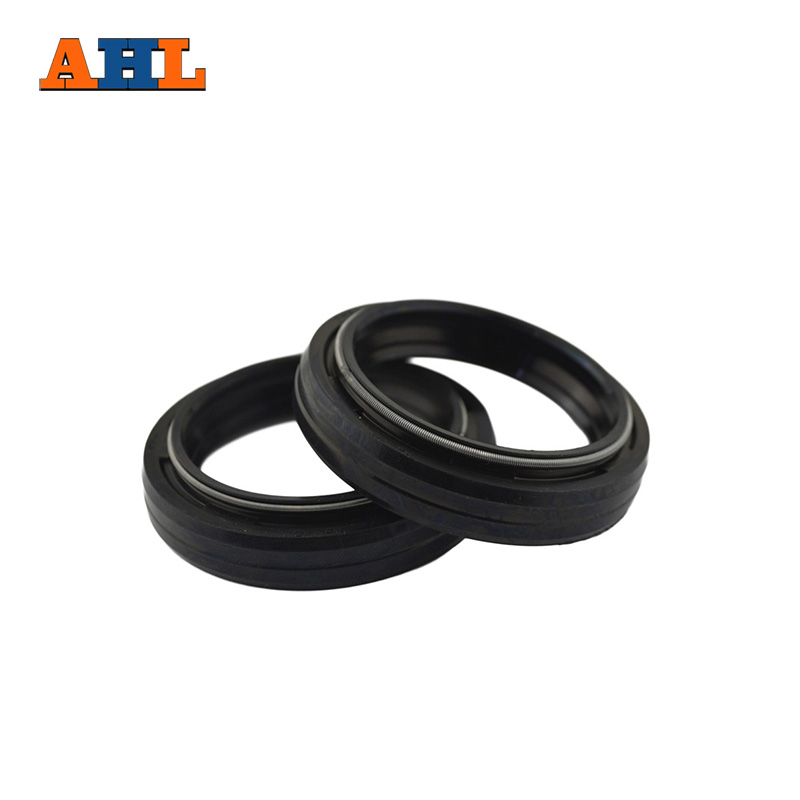 AHL 37x49x8 Front Fork Damper oil seal for Suzuki GS500 GS 500 1989-2002 Shock absorber oil seal ahl motorcycle front fork damper oil seal for suzuki gsf400 bandit 400 1991 1992 1993 shock absorber oil seal