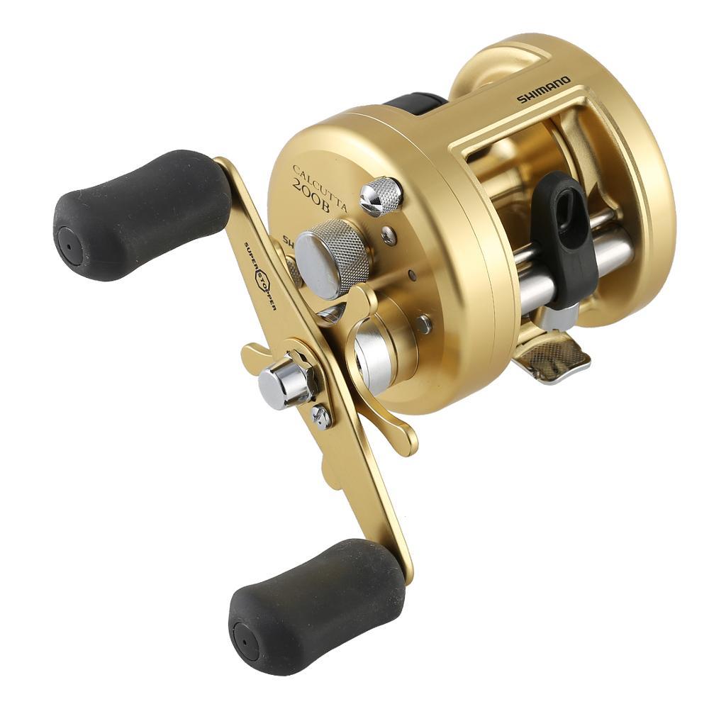 SHIMANO CALCUTTA B 200B 201B Baitcasting Fishing Reel 4BB 5KG Drag 6 0 1 Cast Drum