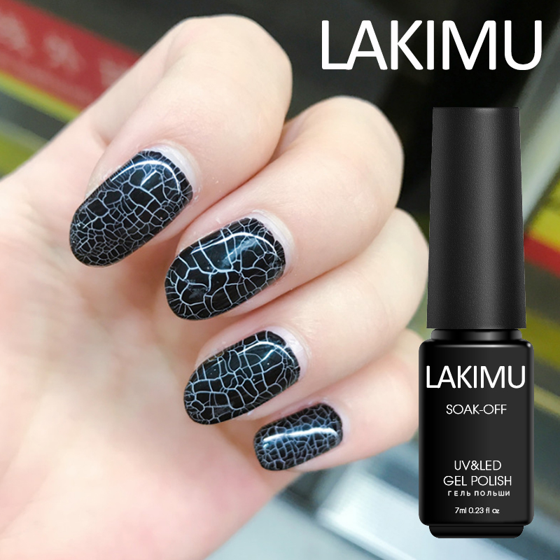 Lakimu Latest Crack Gel Lacquer Professional Lucky Colors - Onetime