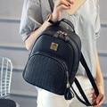 Novas Mulheres Da Moda Mochilas Mochilas De Couro das Mulheres PU Pequeno Saco de Escola Menina Senhoras De Alta Qualidade Bolsas Designer Bolsas Arauto
