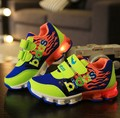 2016 HOt NEW children led shoes with light up for kids girls boys sneakers LED Lighted Flashing Skates Kids Fashion Sneakers