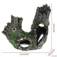 Украшение для аквариума Bole ствол дерева потайная пещера аквариум орнамент декоративный Y110-Dropshipping