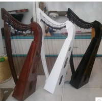 BAIYUANThe earth melody popular Irish harp Celtic harp 22 small harp string three 8 degrees travel harp