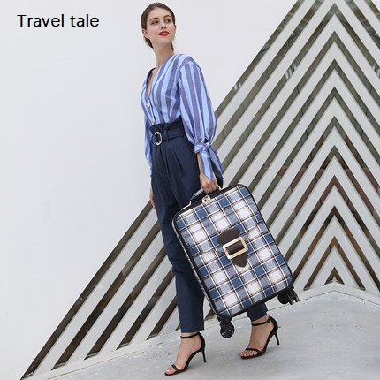 Travel tale Noble travel, classic lattice 16/18/20/24 inches  High quality Rolling Luggage Spinner brand Travel Suitcase Travel tale Noble travel, classic lattice 16/18/20/24 inches  High quality Rolling Luggage Spinner brand Travel Suitcase