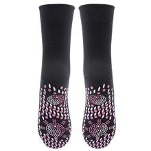 Women Men Tourmaline Self Heating Socks Help Warm Cold Feet Comfort Hot Unisex W