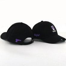 3c6b31e4 Purple Drank cup embroidery baseball cap Gun embroidery fashion snapback  hat women men black outdoor sports casual caps