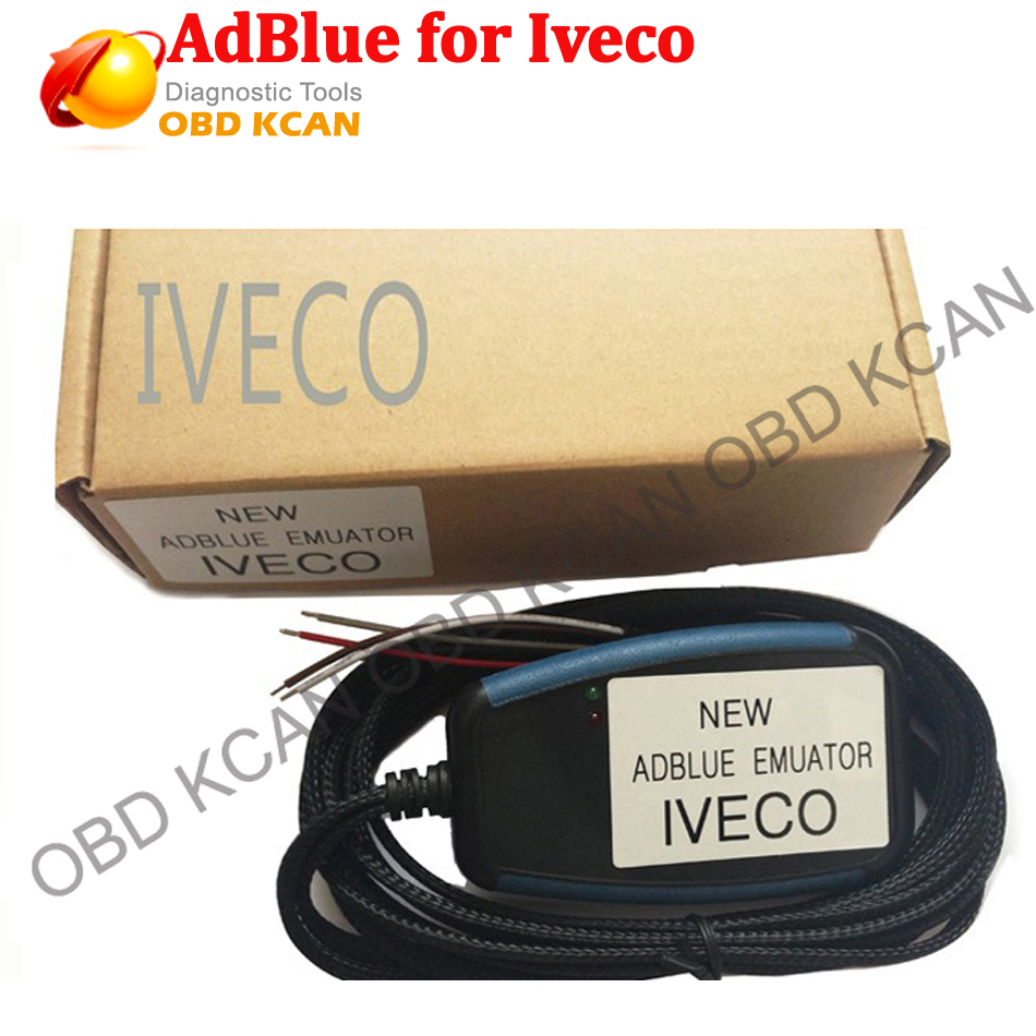 Best quality for IVECO truck adblue emulator have Super function adblue for iveco with free shipping for IVECO Adblue Emulator