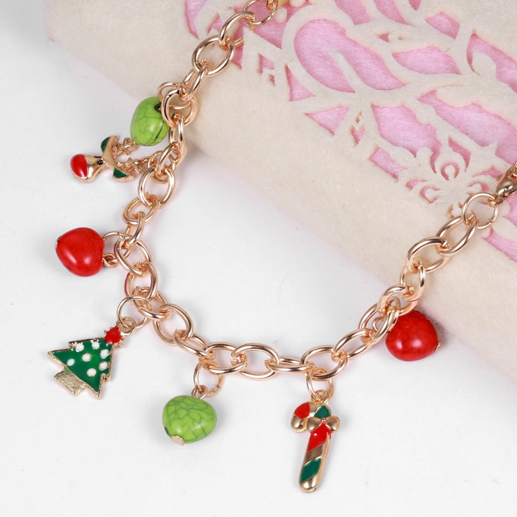 New fashion long necklaces christmas jewelry girls gift gold color new fashion long necklaces christmas jewelry girls gift gold color chain christmas tree pendant necklace neck accessories in chain necklaces from jewelry aloadofball Image collections