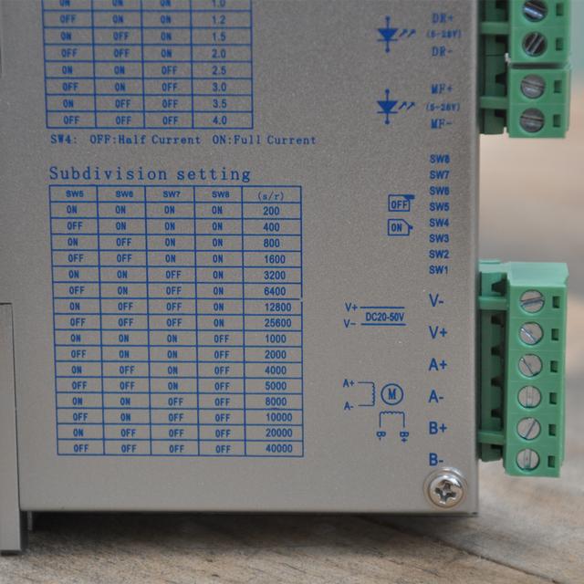 Nema23 stepper motor driver for FLS40 FUYU linear motion guide