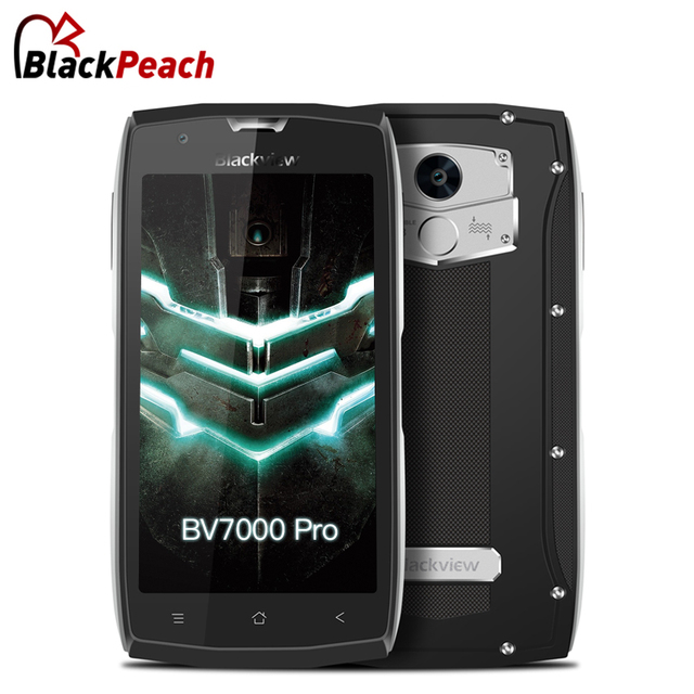 Blackview BV7000 Pro 4 Г Мобильный Телефон 5.0 дюймов FHD MTK6750T Octa ядро Android 6.0 4 ГБ RAM 64 ГБ ROM 13MP Водонепроницаемый IP68 Wifi GPS