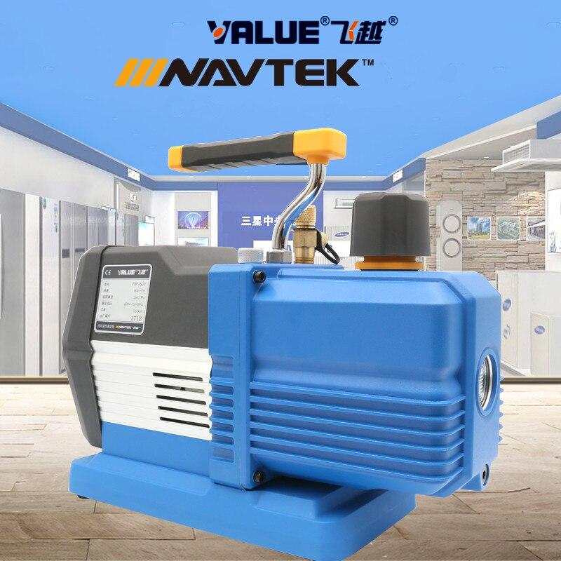 Limite superiore del display digitale intelligente di vuoto pompa VRP-8Di 220 v 8L 0.55KW 14.4M3/h Per Il grande sistema di aria condizionata r32/1234YFLimite superiore del display digitale intelligente di vuoto pompa VRP-8Di 220 v 8L 0.55KW 14.4M3/h Per Il grande sistema di aria condizionata r32/1234YF