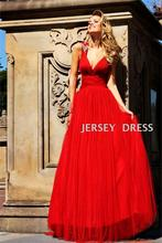 free shipping maxi 2013 coctail V-neck red long dress vestidos formales evening sexy beaded backless homecoming dresses