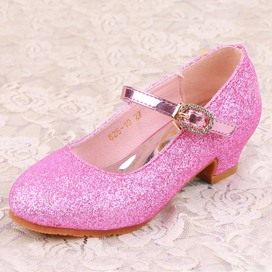Fashion style High Shoes heels for kids for lady