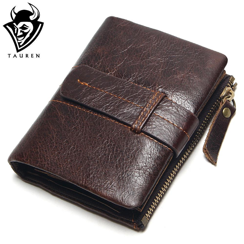 2018 Vintage Casual 100% Real Genuine Leather Oil Cowhide Men Mini Wallets Holder Coin Purse Pockets Small Men Wallet Coin Purse simline fashion genuine leather real cowhide women lady short slim wallet wallets purse card holder zipper coin pocket ladies