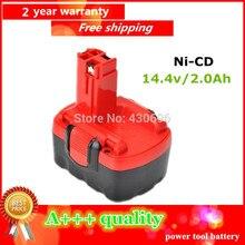Ferramenta de Substituição para Bosch Ni-cd 14.4 V 2.0ah Bateria 2 607 335 264 276 Bat038 Bat040 Bat041 Bat140 Bat159