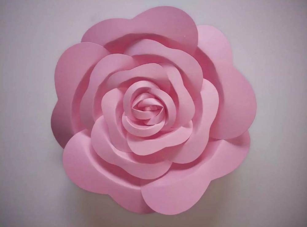 Künstliche Blumen Große Papierblumen Dekoration Papierblumen - Partyartikel und Dekoration - Foto 3