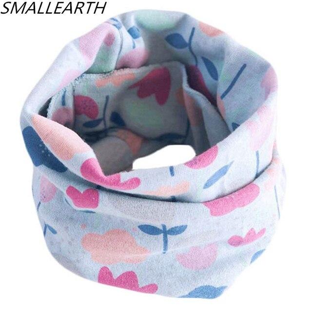 100% хлопок теплый ребенка шарф на весну и зиму Дети шарфы детские шейные воротники мальчики девочки уплотнительное кольцо шарф прекрасные дети воротники