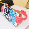 10pcs Mobile Phone Holder Bed Thumb Smartphone Tablet Accessory Mount Stand Support Desk Desktop Table Stents For iPhone/Samsung