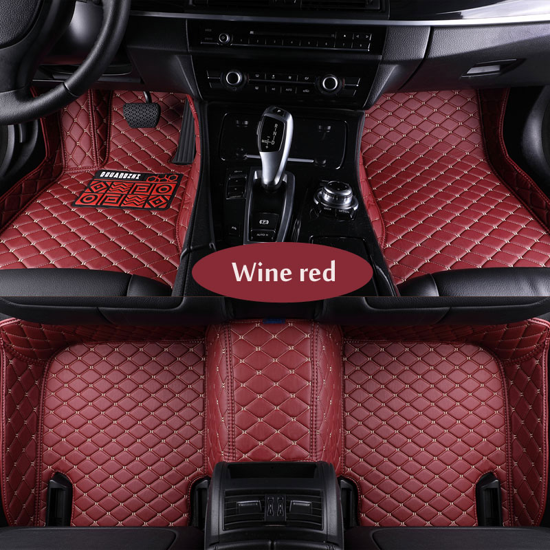 цена на Custom fit car floor mats fit NissanCTR LANNIA altima Rouge X-trail Murano Sentra Sylphy Tiida 3D car-styling carpet floor liner