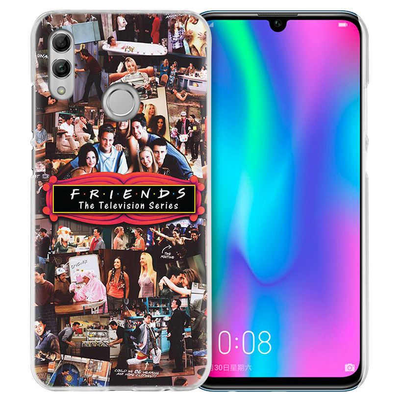 Лучшие друзья вместе чехол для huawei Honor 8X Y9 9 10 Lite Play 7C 8C 8S 8A фотоаппаратов моментальной печати 7S 7A Pro V20 20i Y6 Y7 Y5 2019 жесткий чехол из ПК для телефона