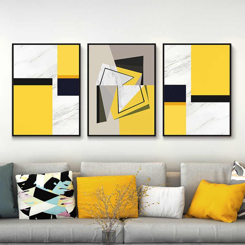 Chinese Painting Style 3pcs Large