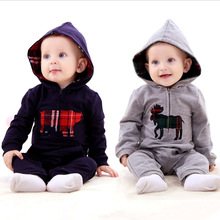 Baby Boy Girl Clothing Spring Ha Even Hat Clothes Long Superstar Jumpsuits