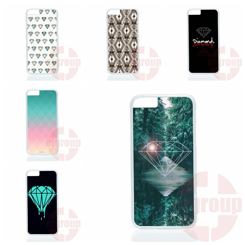 Diamond Supply Co For Apple iPhone 4 4S 5 5C SE 6 6S 7 Plus 4.7 5.5 iPod Touch 4 5 6 protector phone cases