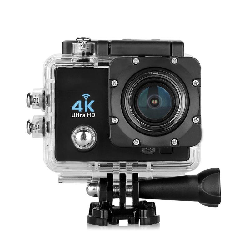 Prix pour Excelvan q6 4 k action caméra 2.0 pouce 170 hd lentille 4k1080p 16 M WIFI Suport 64 GB Max 30 M Étanche 4X Zoom Action Sports caméra