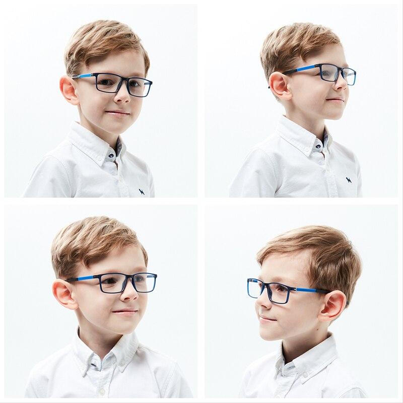 Kirka crianças óculos tr90 molduras de óculos