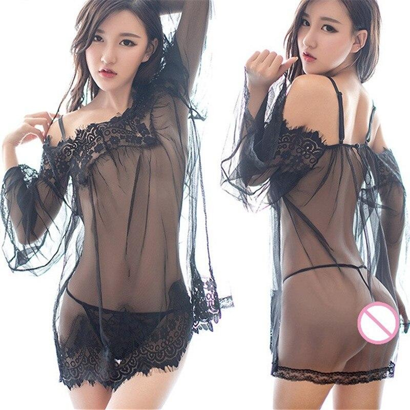 Эротические комплекты с юбочками из сеточки фото 556-421