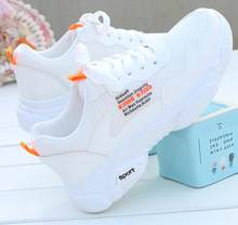 JINTOHO 2019 Spring Summer Vulcanize Female Fashion Sneakers Lace Up Soft Leisure Footwears Breathable Mesh Women Casual Shoes(China)