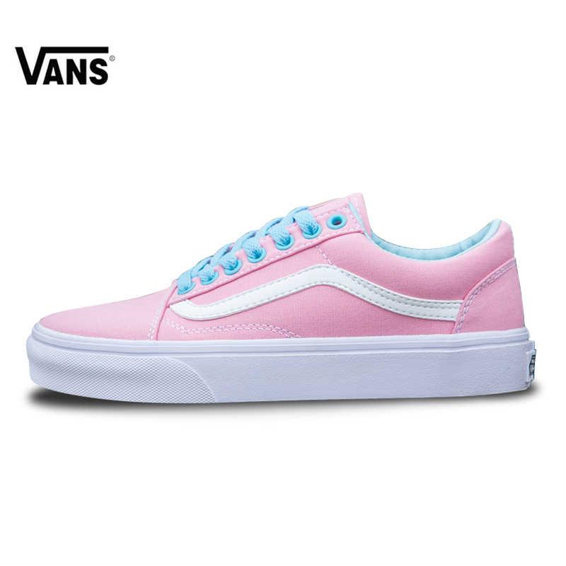 e3d3a775ee7d7d Vans Old Skool zapatillas de deporte bajo-top zapatillas de las mujeres de  los deportes