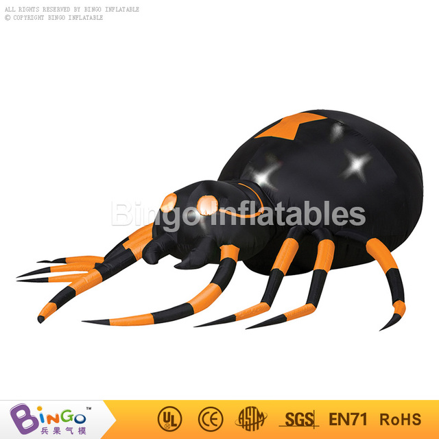 Halloween inflatable replica giant spider BG-A0802-12 toy