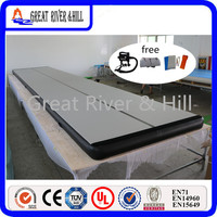 Fedex shipping inflatable air track inflatable tumble track gymnastics inflatable air mat for gym 9m x 1m x 0.1m