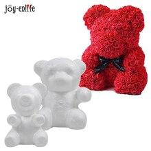 1pcs Hot Sale Foam Bear Wedding & Engagement Decor Polystyrene Styrofoam Modelling Craft Ball Anniversary Valentines Day Gift