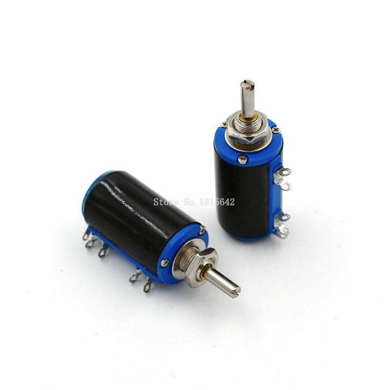WXD3-13-2W 100 Ohm 100R WXD3-13 2W Rotary Side Rotary Multiturn Wirewound Potentiometer