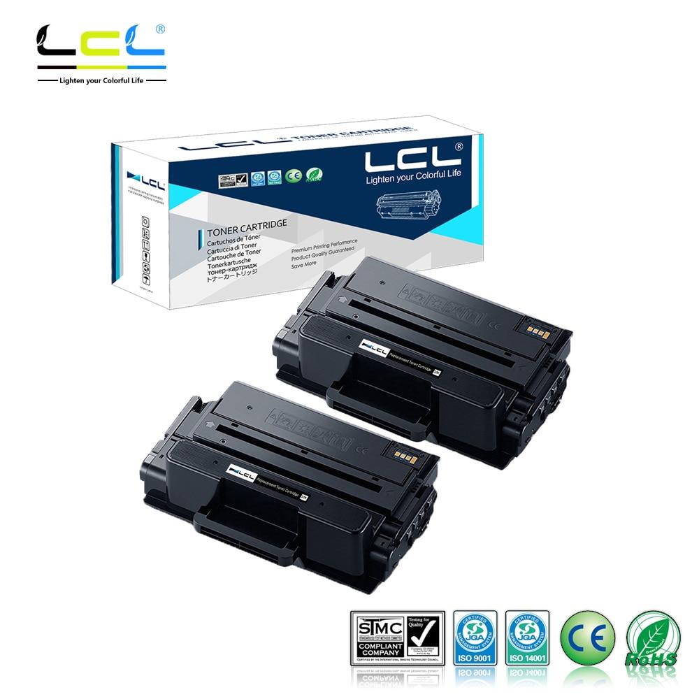 LCL MLT-D203E MLT D203E 10000 Pages (2-Pack Black) Toner Cartridge Compatible for Samsung ProXpress SL-M3320/3820/4020 картридж для принтера befon mlt d111s d111 mlt d111s 111 samsung xpress m2070 m2070fw m2071fh m2020 m2020w m2021 m2022 m2022w befon for xpress sl 2070 f m2020w m2022 m2022w toner cartridge