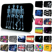 Four Skeleton Dance Show Laptop Notebook Pouch 16 8 17 Inch Casual Handbag 17 3 17