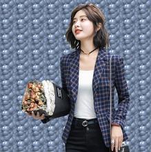 THYY 2018 Plaid Full Spring Autumn Coat Blazer Women Suit Ladies Refresh Blazers Comfortable Women's Blazers Free Shipping A814