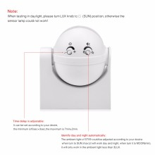 High Sensitivity 180 Degree 110V-240V PIR Infrared Motion Sensor Switch DIY Smart Security LED light Movement Induction Detector